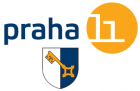 Praha 11 se znakem   logo