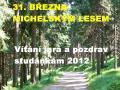 Vítání jara a pozdrav studánkám 2012, autor: PhDr. Jiří Bartoň