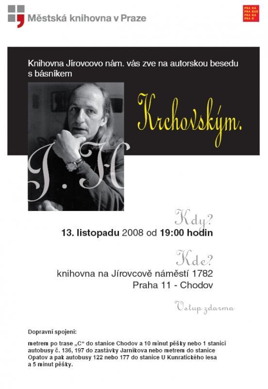 Plakát knihovna Jírovcovo náměstrí
