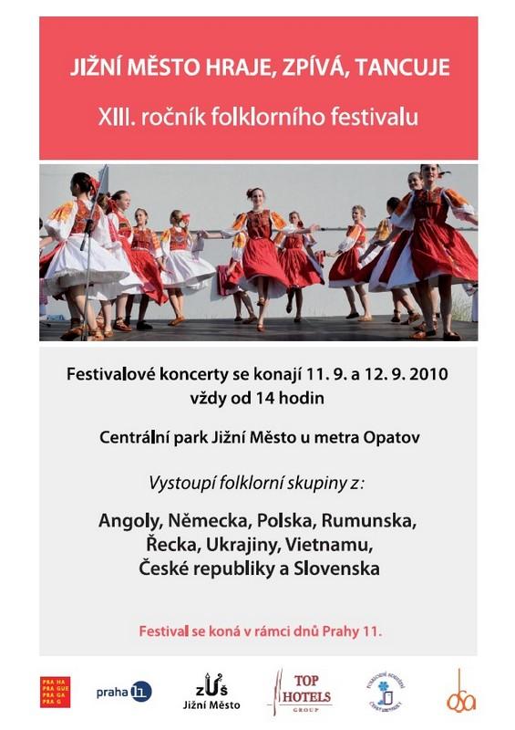 Folklorní festival, obrázek se otevře v novém okně