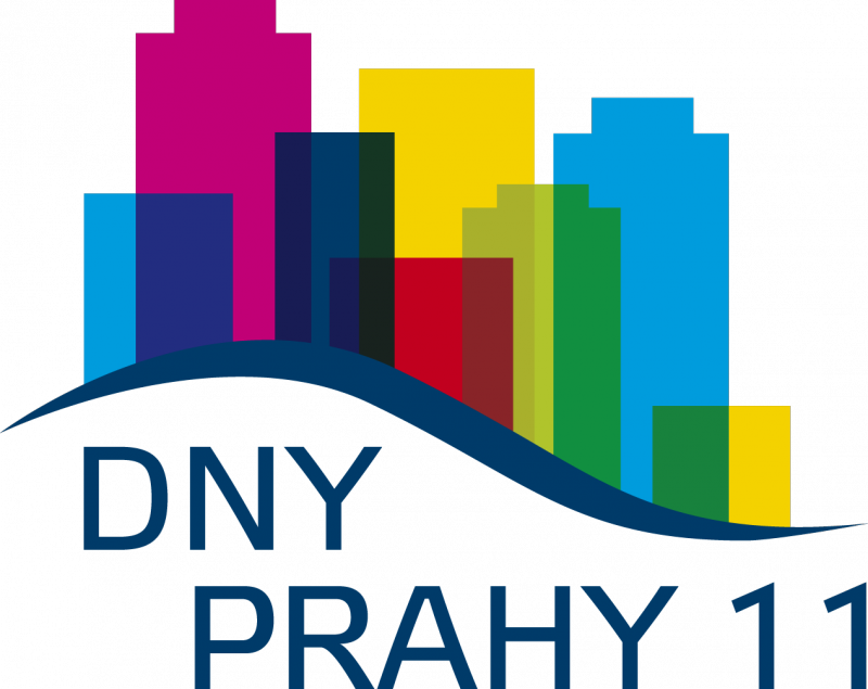Dny Prahy 11 logo final, obrázek se otevře v novém okně