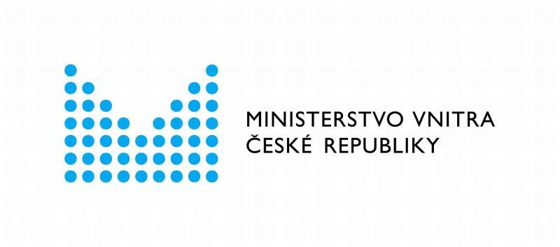 Ministerstvo vnitra Logo CMYK, obrázek se otevře v novém okně