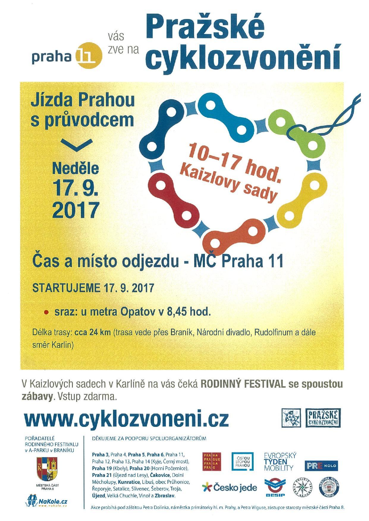 Pražské cyklozvonění