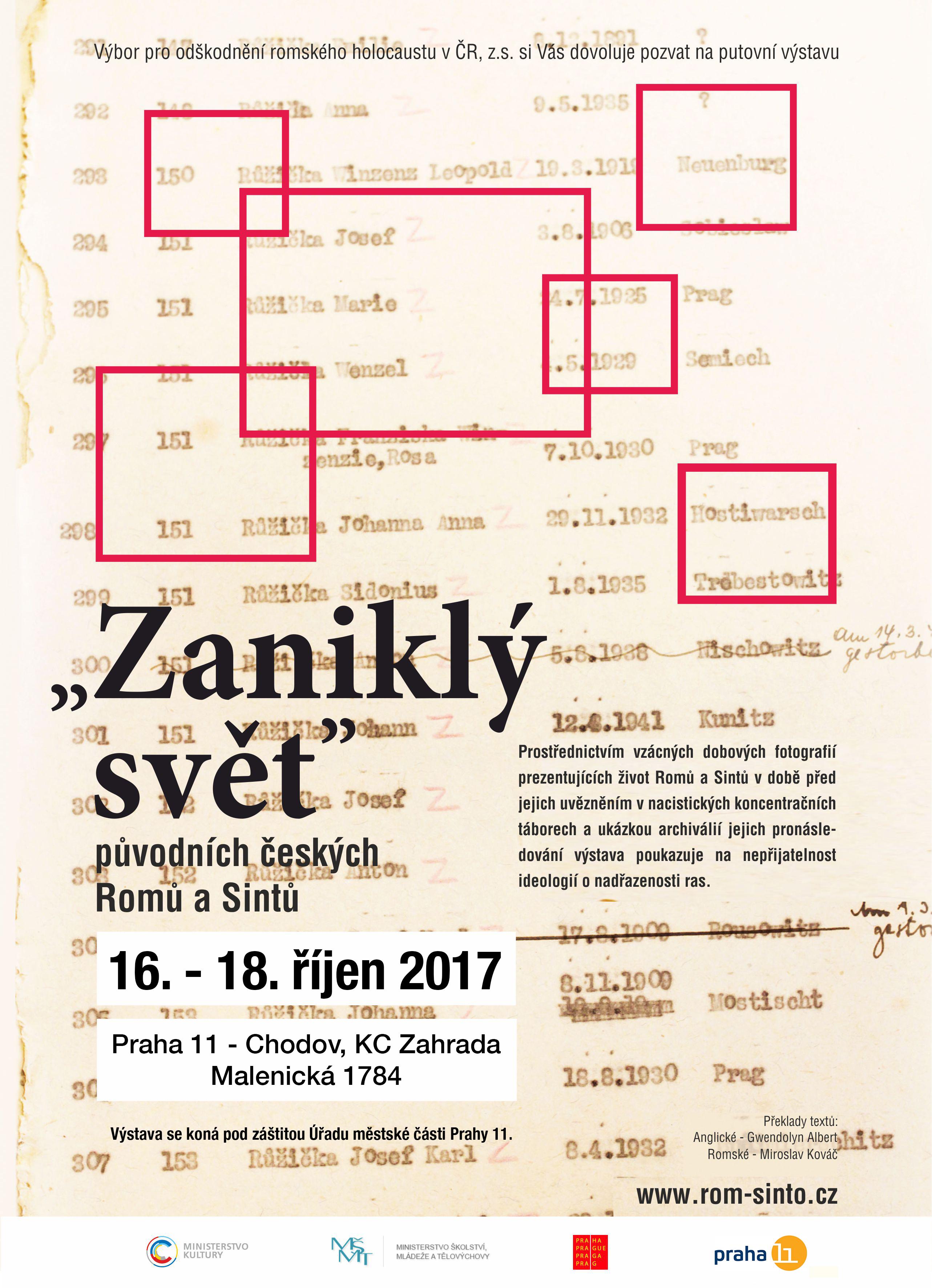 plakat A3 Praha 11