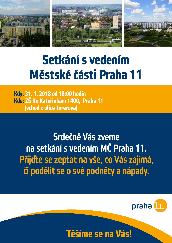 Setkání vedení MČ s občany 31  1  2018