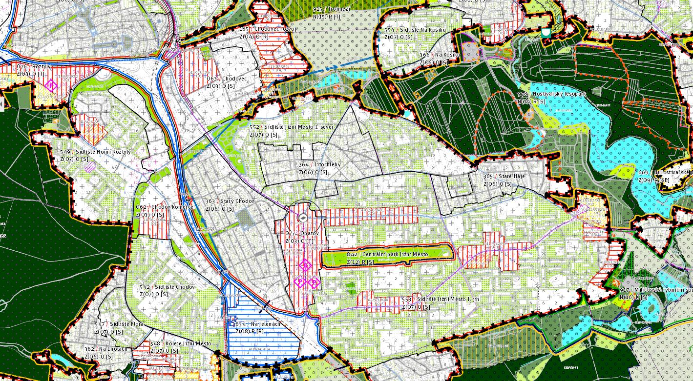 Metropolitní plán 2, obrázek se otevře v novém okně