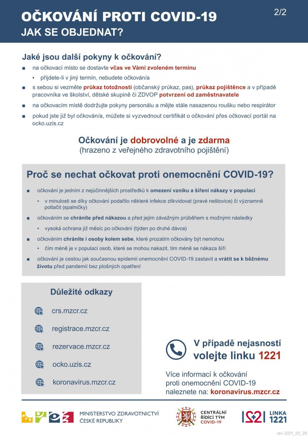 Ockovani Proti Covid 19 Aktualni Informace Praha 11